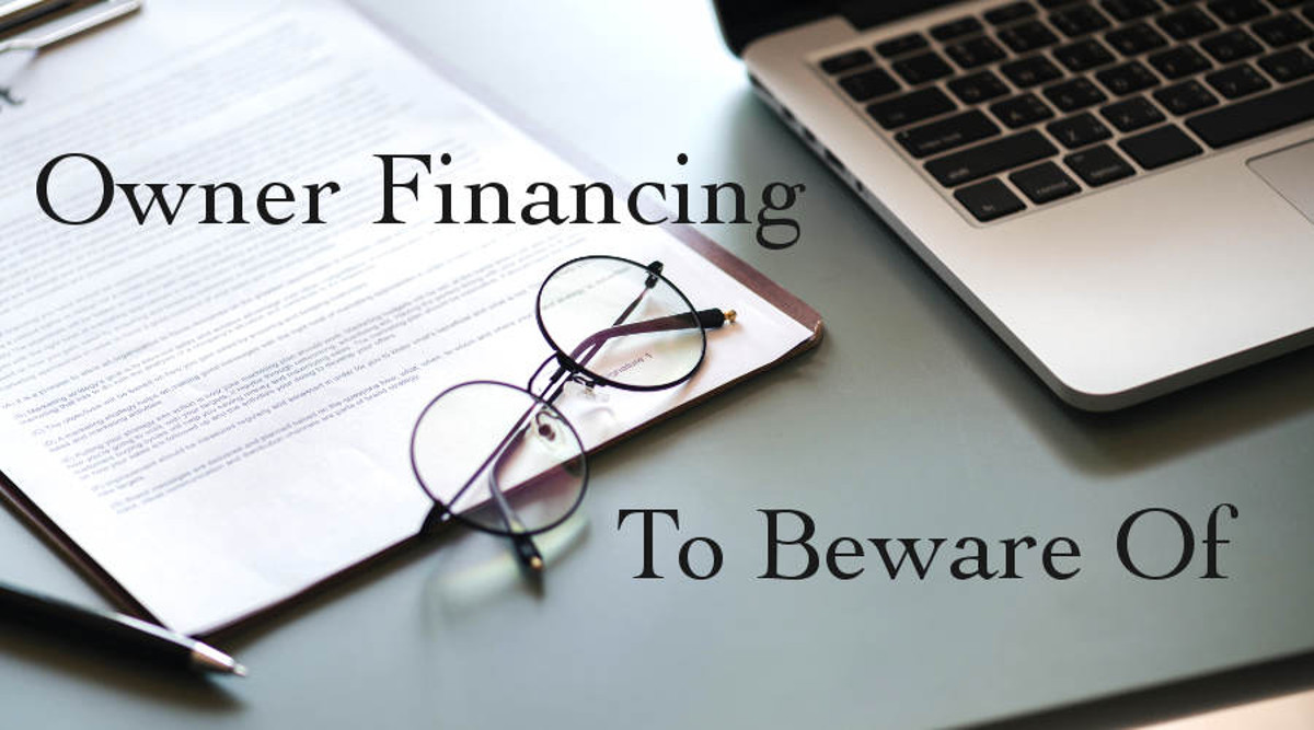 Owner Finance To Beware Of