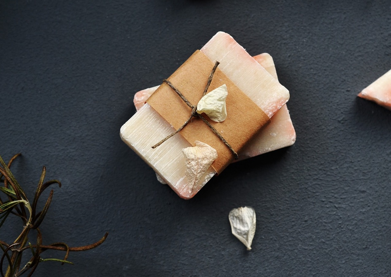 handmade bars of soap